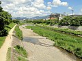 Tadasu River Banks - Kamo River - Kyoto - DSC06595.JPG
