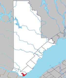 Village municipality in Quebec, Canada
