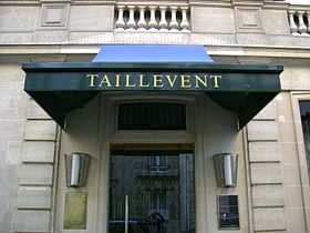 image illustrative de l'article Taillevent (restaurant)