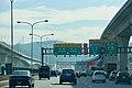 Taiwan Freeway 1 Taishan Switch Southbound 2017.jpg