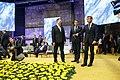 Tallinn Digital Summit. Round table Jüri Ratas, Xavier Bettel, Emmanuel Macron (23538776818).jpg
