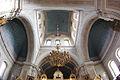 Tampereen ortodoksinen kirkko sisältä 14 poikkilaivan katto kalansilmällä.JPG