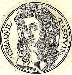 Tanaquil - A rendering of Tanaquil, wife of Tarquinius Priscus, fifth king of Rome.