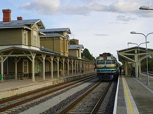 Tartu railway station - Image: Tartu raudteejaam 3