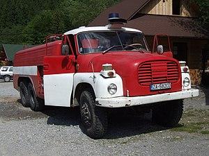 Tatra 148 - Image: Tatra T148 firefighting car