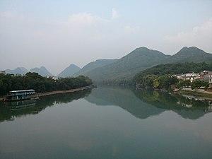 Gongcheng Yao Autonomous County - Cha river of Gongcheng