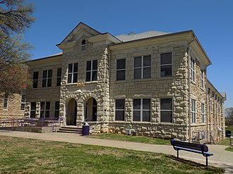 Haskell Indian Nations University - Haskell's Tecumseh Hall (2018)
