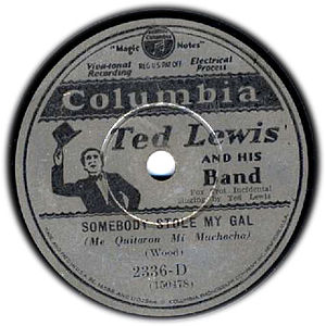 1930 in music - 1930 Ted Lewis record label