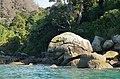 Teenage Mutant Ninja Turtle rock near Onetahuti Bay.jpg