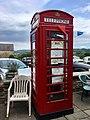 Telephone box, Groeswen Road, Groeswen, July 2020 (2).jpg