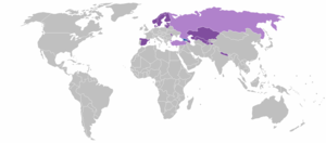 Telia Company - Image: Telia Sonera global activities
