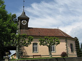 Village church in Corcelles-sur-Chavornay