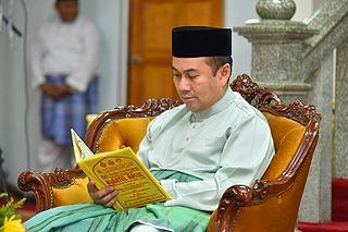 Tengku Muhammad Fa-iz Petra Tengku Mahkota of Kelantan