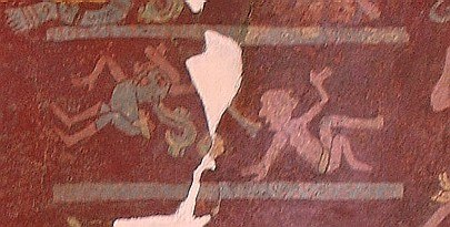 Tepantitla Ballcourt & Ballplayers Teotihuacan