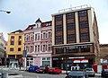Teplice, náměstí Svobody, zbylé domy na východní straně.jpg
