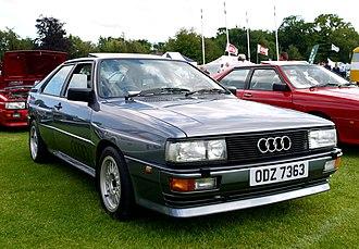 Audi Quattro - Image: Terenure, Co. Dublin Ireland (6017584315)