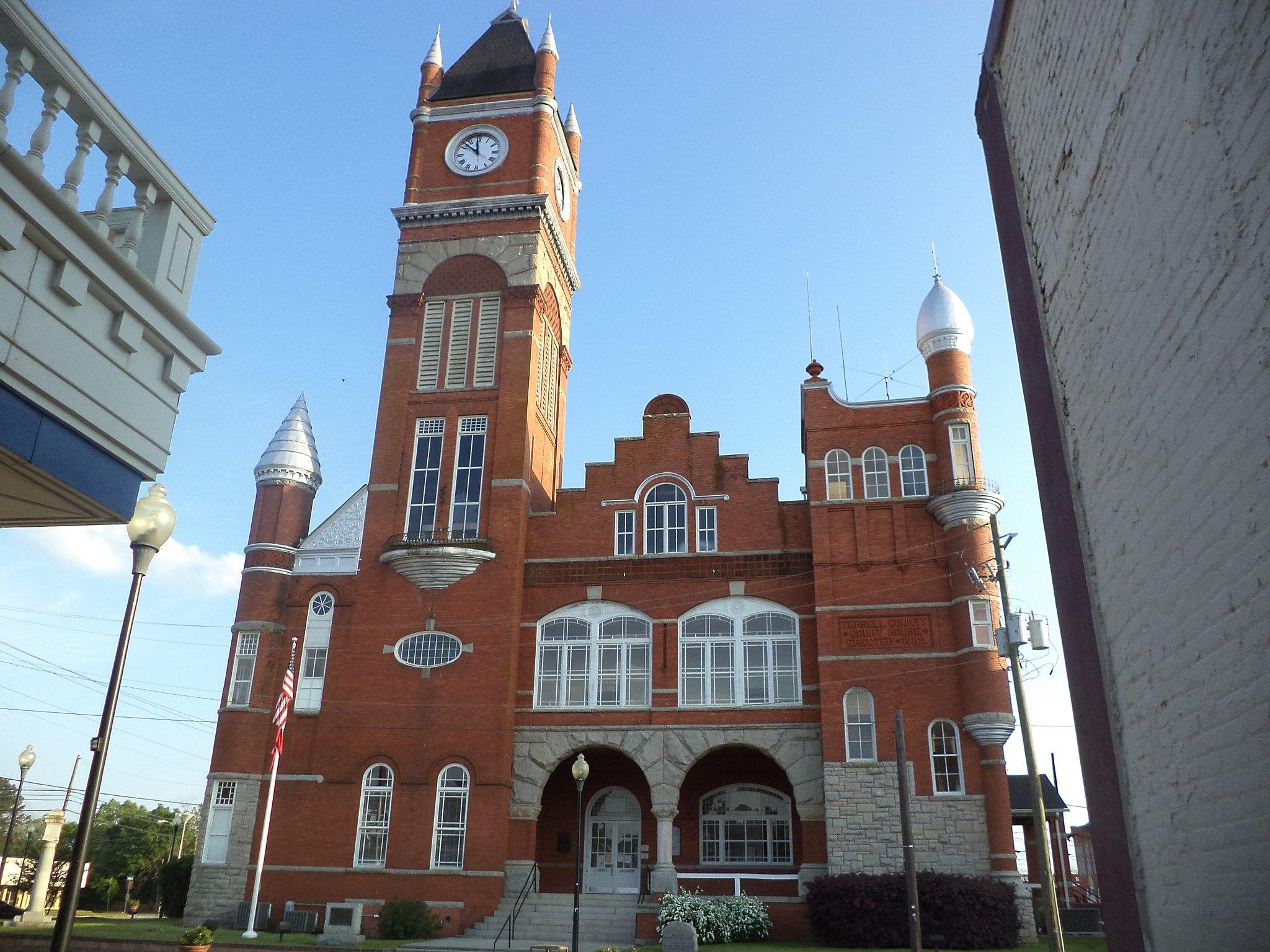 Terrell County Courthouse, Georgia