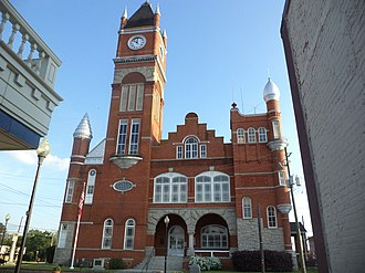 Terrell County, Georgia - Image: Terrell County Courthouse, Georgia