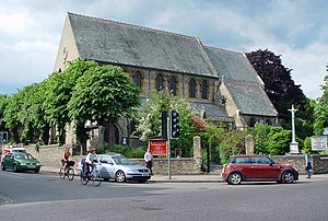 St Giles' Church, Cambridge - Image: The Church of St Giles with St Peter, Cambridge geograph.org.uk 875510