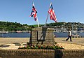 The D-Day Memorial by the River Dart (geograph 5782483).jpg