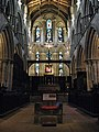 The Frith Stool, The Choir and the High Altar, Hexham Abbey - geograph.org.uk - 733983.jpg