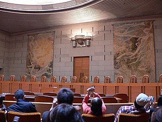 Bench (law) - The Supreme Court of Japan Grand Bench seats 15 justices.