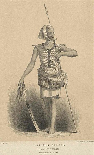 Iranun people - Image: The Iranun (Ilanun) Moro 'pirate'