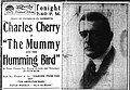 The Mummy and the Hummingbird 1916 newspaper.jpg