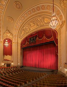 The restored and renovated Orpheum Theatre