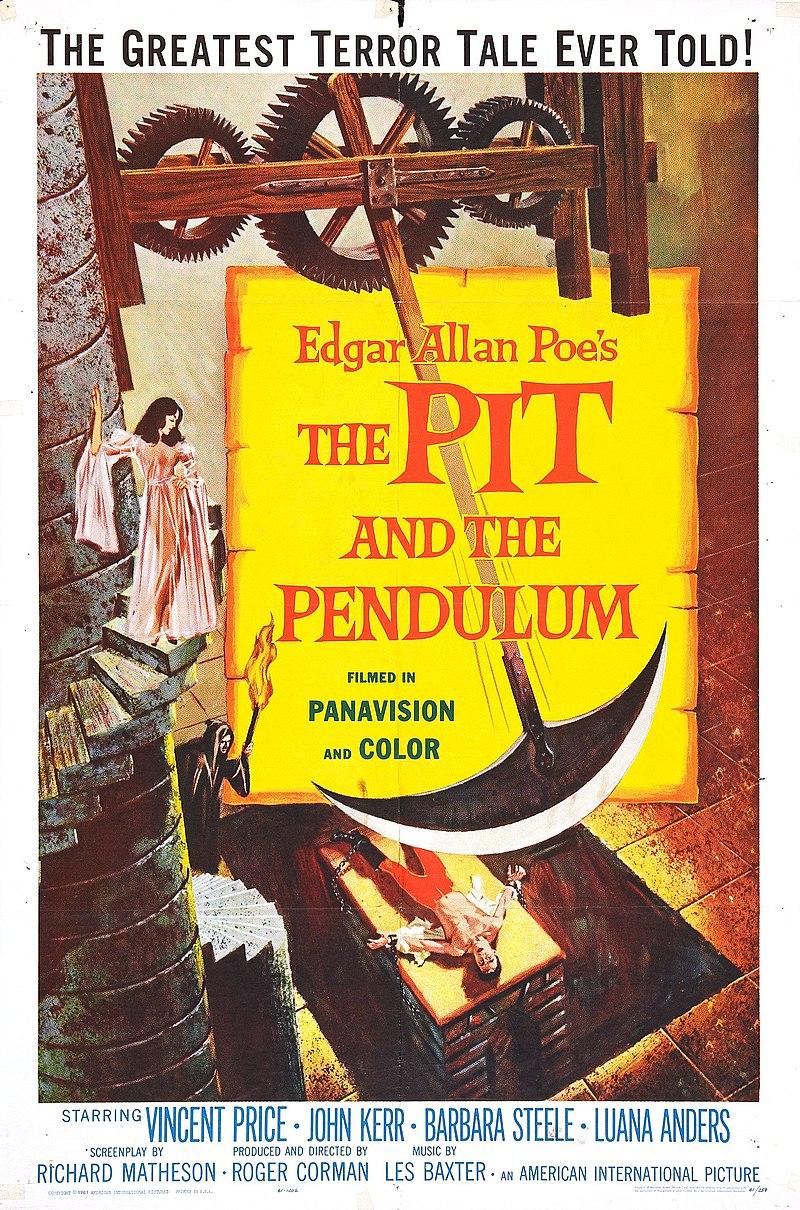 Cine fantástico, terror, ciencia-ficción... recomendaciones, noticias, etc - Página 10 800px-The_Pit_and_the_Pendulum_%281961_film%29_poster
