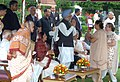 The President, Smt. Pratibha Devisingh Patil and the Prime Minister, Dr. Manmohan Singh at the 'At Home' function organised at Rashtrapati Bhavan on the occasion of the 62nd Independence Day, in New Delhi on August 15, 2008.jpg
