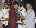 The President Dr. A.P.J. Abdul Kalam presenting the Arjuna Award -2005 to Shri Sushil Kumar for Wrestling, at a glittering function in New Delhi on August 29, 2006.jpg