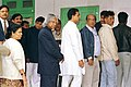 The President Dr. A.P.J. Abdul Kalam standing in a queue to cast his vote at a Polling booth during Assembly Elections of Delhi on December 1, 2003 (Monday).jpg