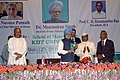 The Prime Minister, Dr. Manmohan Singh releasing a book at 92nd Annual Conference of Indian Economic Association (IEA), in Bhubaneswar, Orissa on December 27, 2009.jpg
