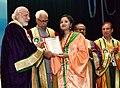 The Prime Minister, Shri Narendra Modi distributes the awards to students, at the 5th Convocation of Shri Mata Vaishno Devi University, at Katra, in Jammu and Kashmir (3).jpg