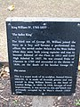 The Sailor King Plaque, Greenwich - geograph.org.uk - 598526.jpg