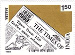 The Times of India 1988 stamp of India.jpg