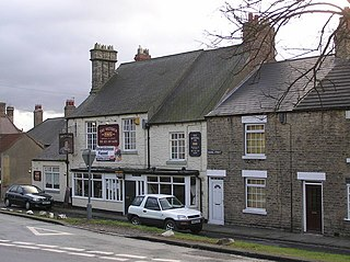 Witton-le-Wear village in the United Kingdom