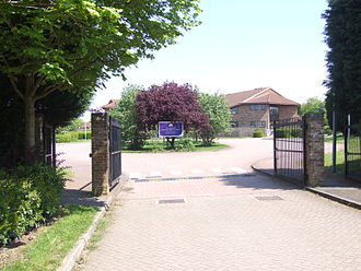 Webber Independent School - View of the School from Soskin Drive