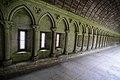The cloister - Mont St Michel (32078864974).jpg