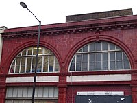 The disused CCE&HR station building on the corner of Drummond Street and Melton Street 05.jpg