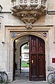The entrance to Pembroke College in Oxford (geograph 5227314).jpg