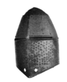 The helm of Richard Pembridge from Hereford Cathedral.png