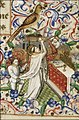 The mass of St. Martin, Bishop of Tours - Book of hours Simon de Varie - KB 74 G37 - 080r randfig 3.jpg