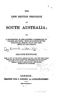 The new British province of South Australia.djvu