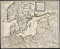 The seat of war in ye North, or a map of the Baltick, with part of the North Sea ... posture of affaris (8342950104).jpg