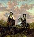 Thomas de Keyser - Portret van twee onbekende mannen te paard - Gal.-Nr. 1543 - Staatliche Kunstsammlungen Dresden.jpg