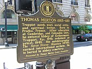 Thomas merton sign