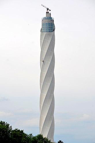 ThyssenKrupp - TyssenKrupp elevator test tower (246m)  near Rottweil (2018)