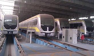 Tianjin Metro - Image: Tianjin Metro Line 2 Train